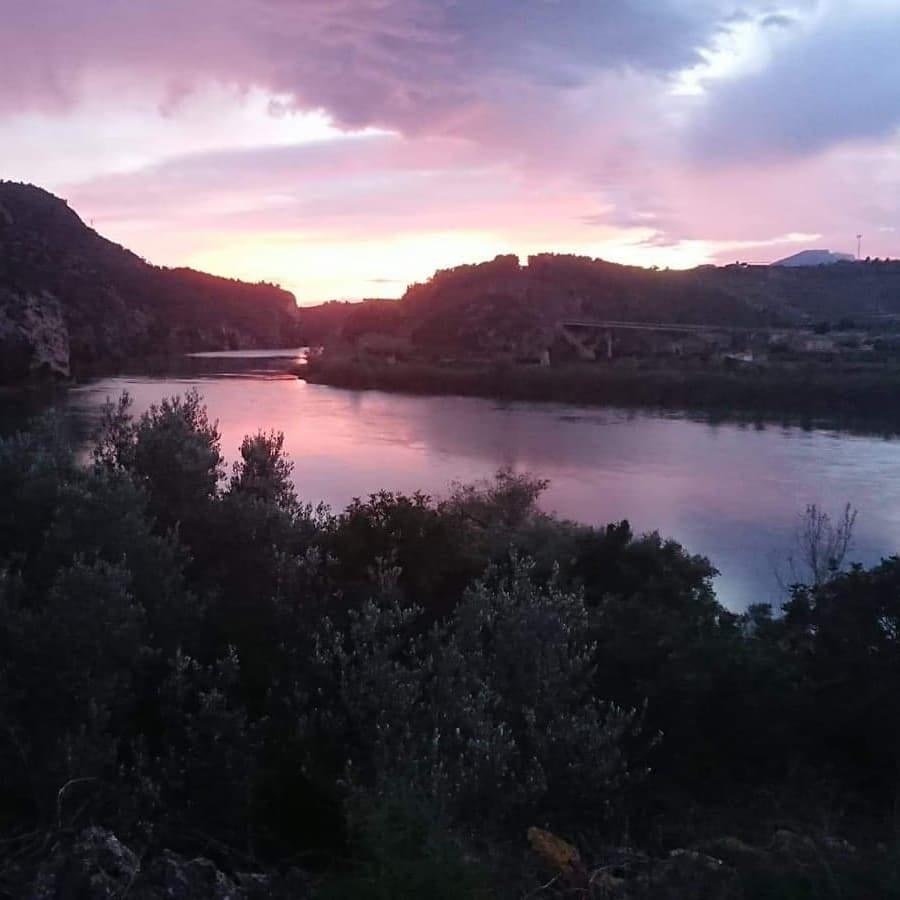 avond-uitzicht